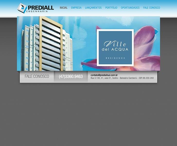 Site produzido pela Uébi - Construtora Prediallsul