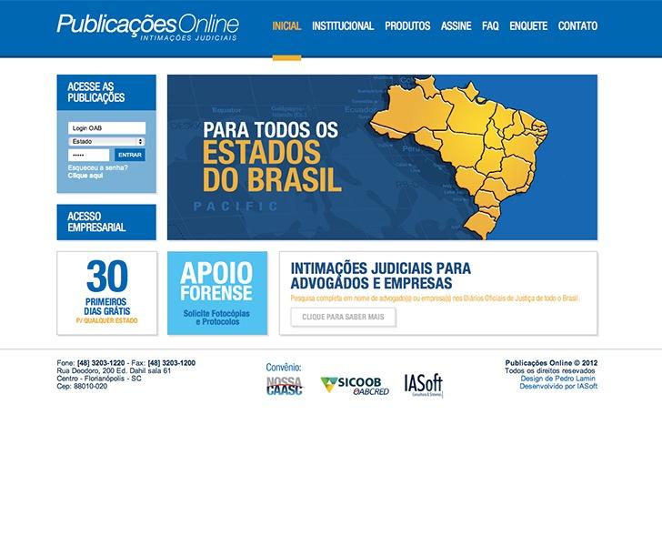 Site produzido pela Uébi - Publicações online