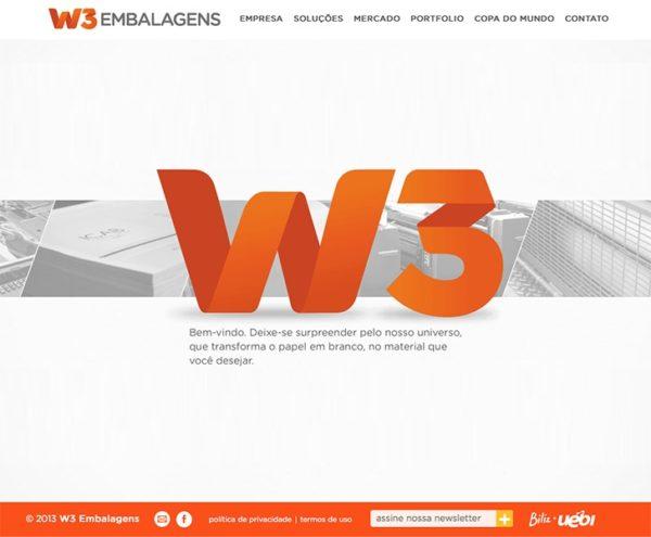 Site produzido pela Uébi - W3 Embalagens