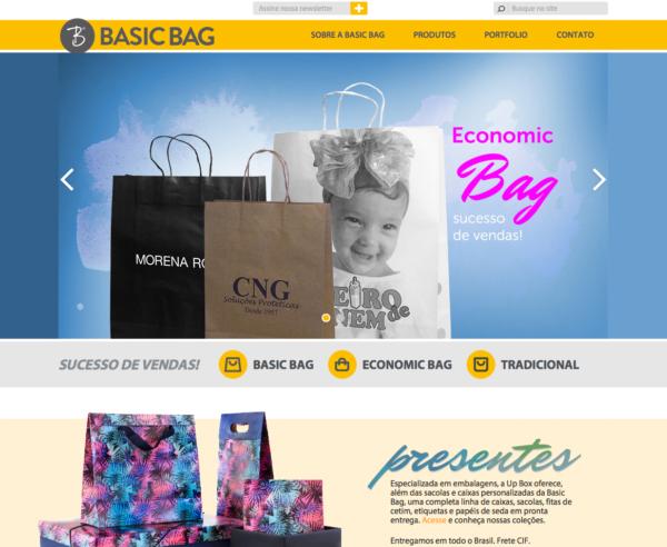 Site produzido pela Uébi - BASIC BAG