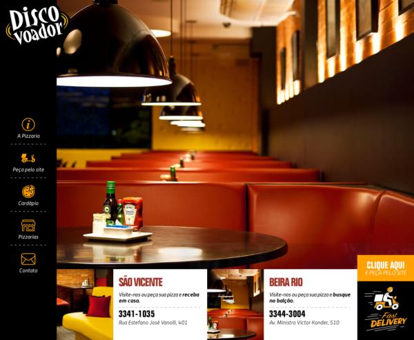 Site produzido pela Uébi - Pizzaria Disco Voador