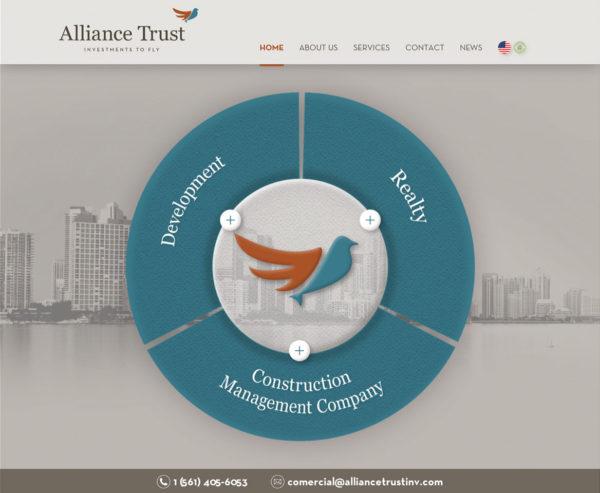 Site produzido pela Uébi - Alliance Trust