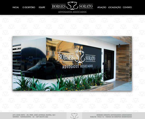 Site produzido pela Uébi - Borges e Sorato Advogados