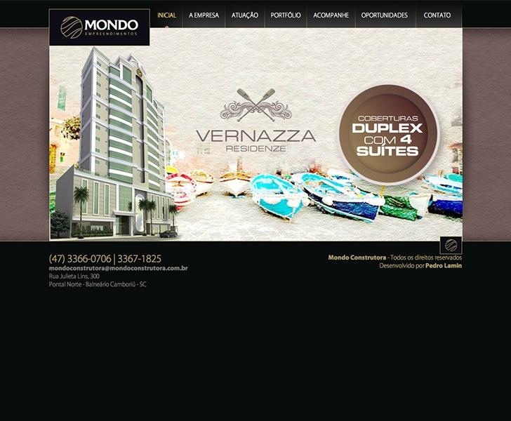 Site produzido pela Uébi - Mondo Construtora