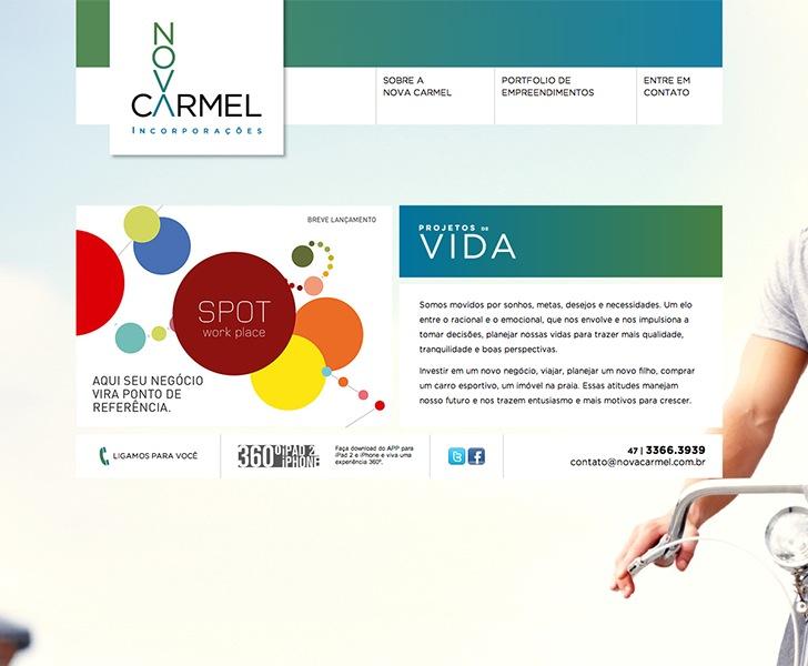 Site produzido pela Uébi - Nova Carmel