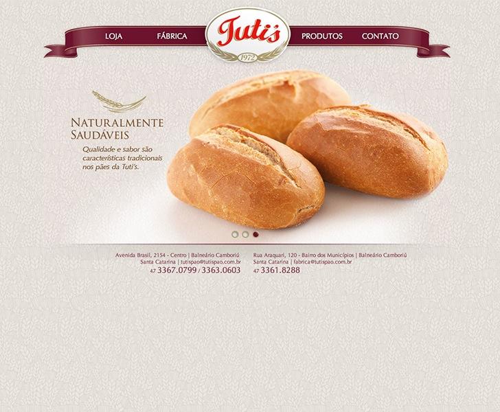 Site produzido pela Uébi - Tuti's Pão