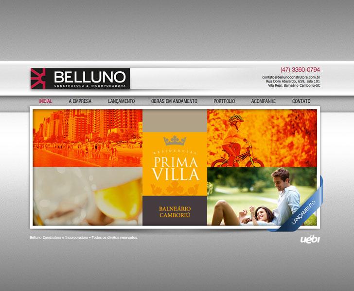 Site produzido pela Uébi - Belluno Construtora & Incorporadora