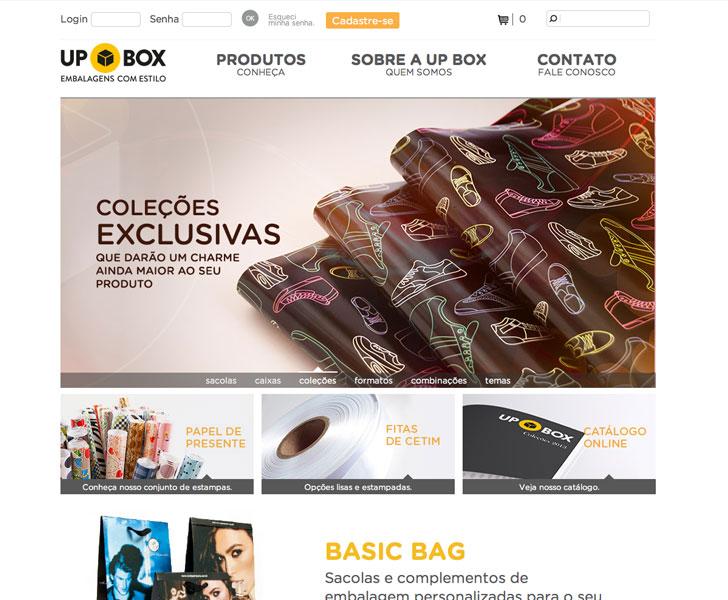 Site produzido pela Uébi - UP BOX Embalagens