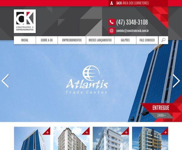 Site produzido pela Uébi - Construtora CK