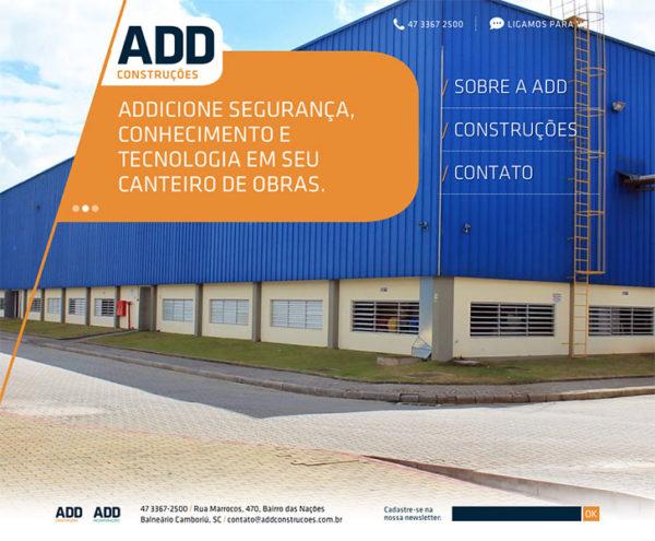 Site produzido pela Uébi - ADD Construções