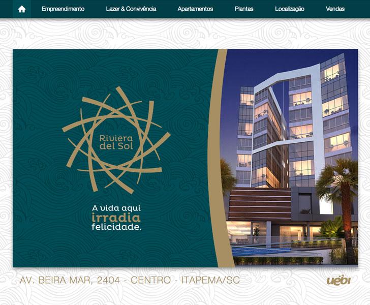 Site produzido pela Uébi - Rivieral del Sol – Heil Empreendimentos