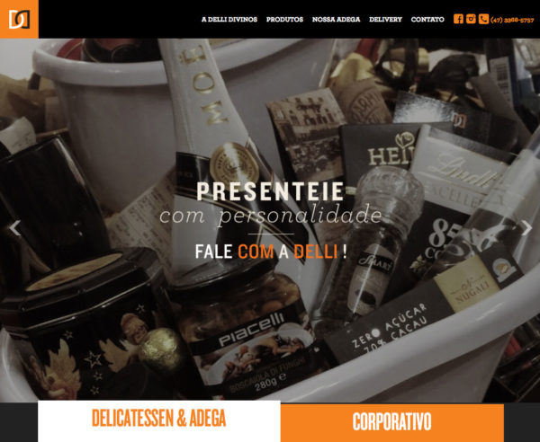 Site produzido pela Uébi - Delli Divinos