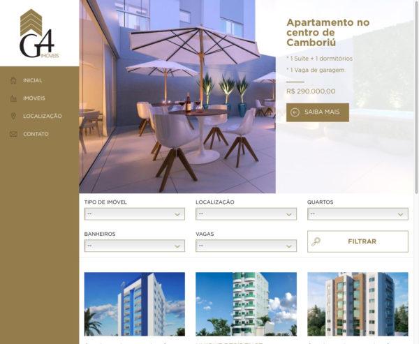 Site produzido pela Uébi - G4 Imóveis