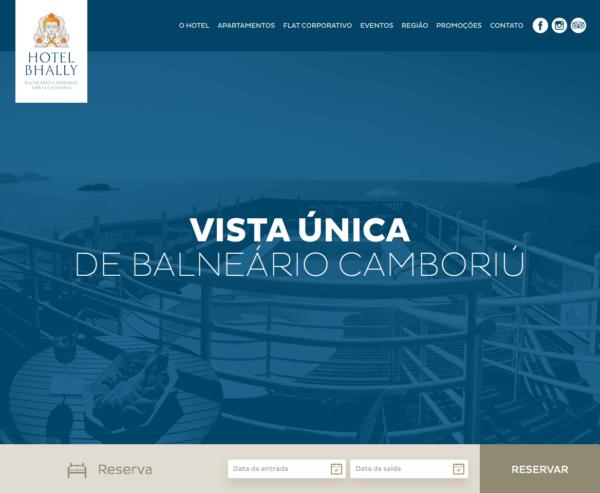 Site produzido pela Uébi - Hotel Bhally