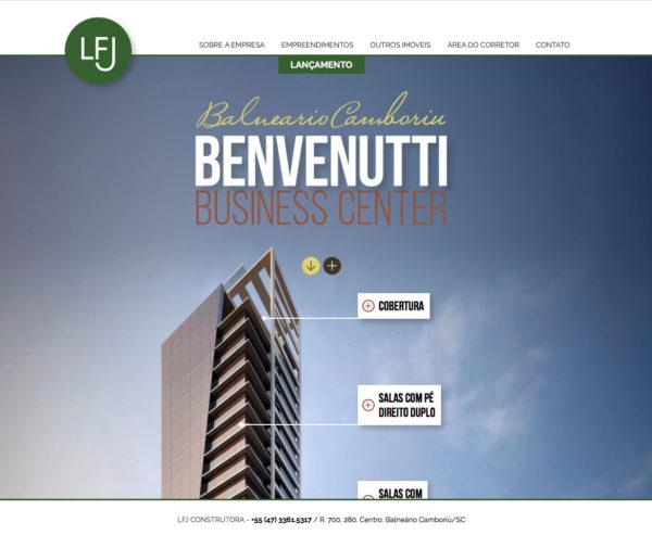 Site produzido pela Uébi - LFJ Construtora
