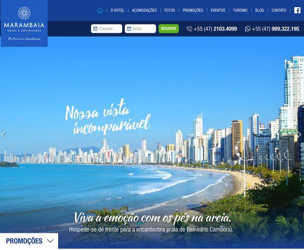 Site produzido pela Uébi - Marambaia Hotel e Convenções